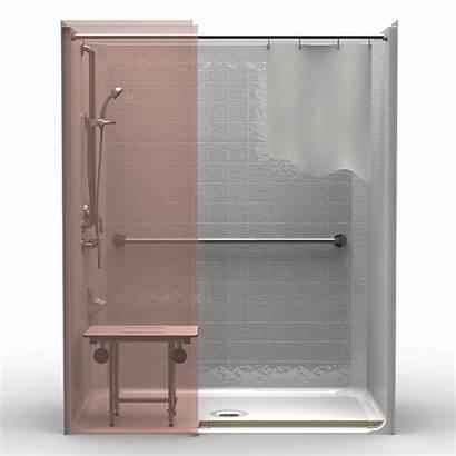 Shower Ada Roll Piece Tile Compliant Code