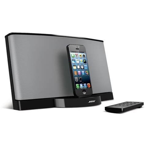 audio to iphone the bose iphone 5 sound dock hammacher schlemmer