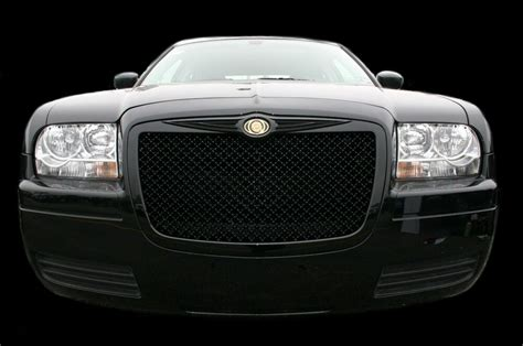2005 Chrysler 300 Grill by Chrysler 300 Bentley Mesh Grille Chrome Grille Black Mesh