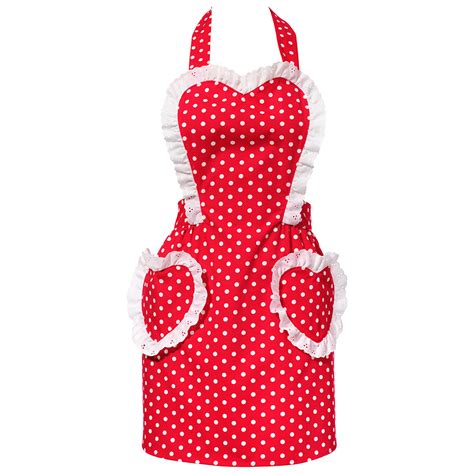 what is an apron sweetheart red apron vintage retro hostess aprons