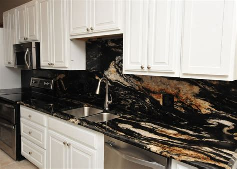 white kitchen cabinets ideas for countertops and backsplash titanium granite kitchen project details and pictures