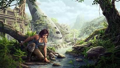 Lara Croft Raider Tomb Fan Games Characters