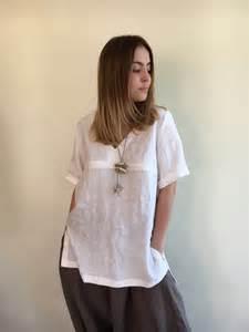 long linen shirt beach shirt loose linen shirt white linen