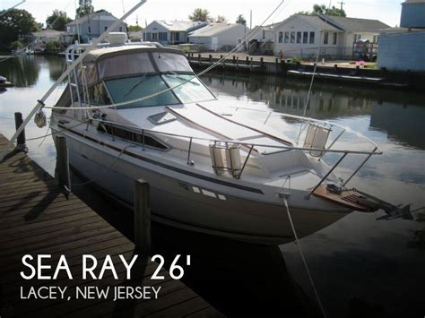 Boats For Sale Lacey Nj by For Sale Used 1985 Sea Ray 260 Sundancer In Lacey New