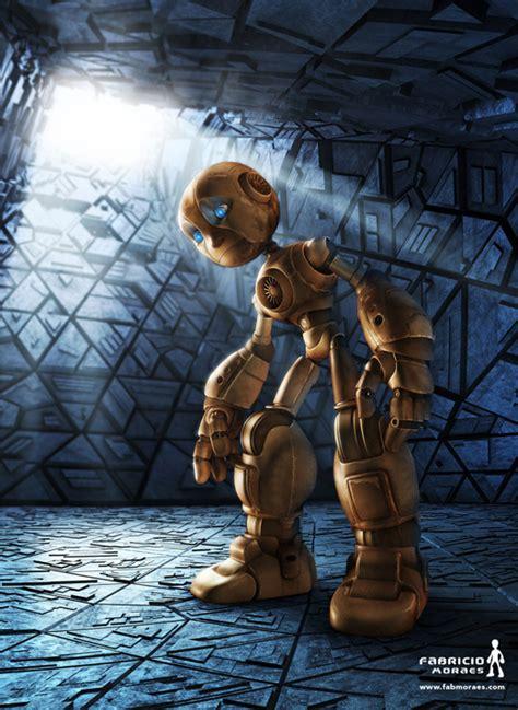 gambar robot  depan