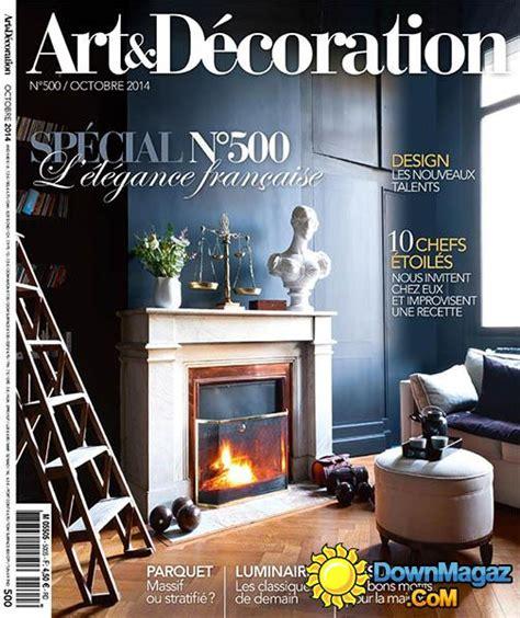 magazine et decoration d 233 coration octobre 2014 no 500 187 pdf magazines magazines commumity