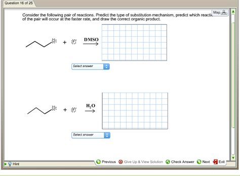 Solved Consider The Following Pair Of Reactions Predict