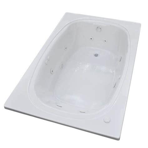 45 Ft Drop In Bathtub by Universal Tubs Peridot 6 Ft Acrylic Rectangular Drop In