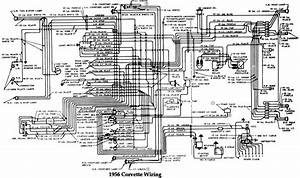 Chevrolet Corvette 1956 Wiring Diagram