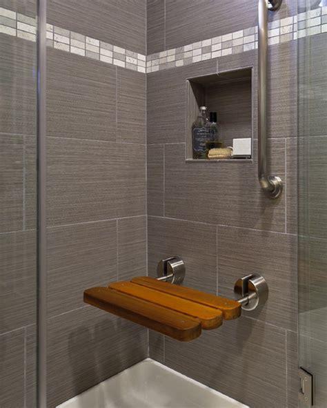 bathroom niche ideas gray bathroom wall tile plus square niche for soap