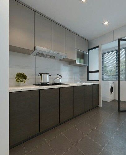 clean kitchen layout opulence cocinas modernas