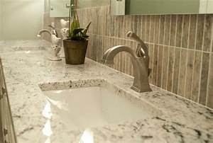 White ice granite in the powder room decoist for White ice granite bathroom