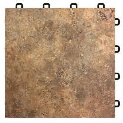 vinyl laminate interlocking floor tile