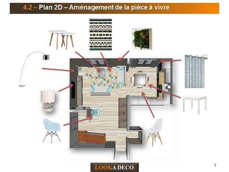 plan salon salle a manger d 233 coration d int 233 rieur pi 232 ce 224 vivre et cuisine chatou 92
