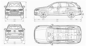 Audi Q7 2015 Blueprint