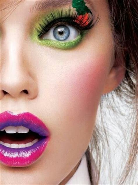 colorful makeup an interesting collections of 35 creative lip makeup looks