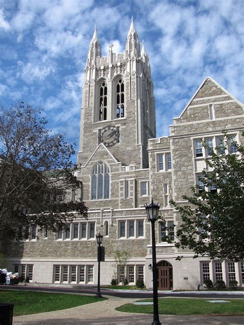 Boston College by Gasson Hall Wikipedia