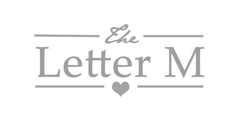 Letter M Design