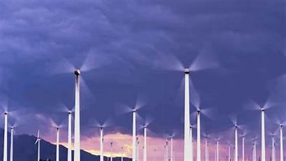 Wind Turbine Gifs Power Energy Joshua Animated