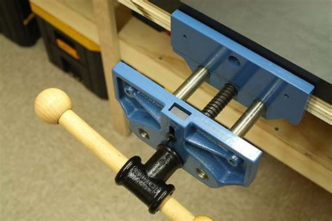 rockler  quick release bench vise review
