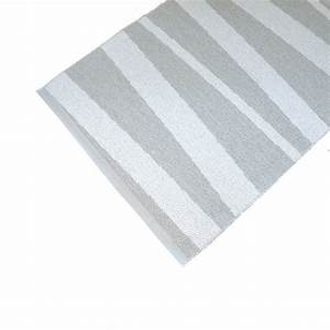 Tapis Blanc Et Gris : tapis de couloir ray gris et blanc are sofie sjostrom ~ Melissatoandfro.com Idées de Décoration