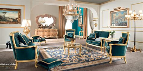 Living Room With Velvet Upholstery And Furniture Covered