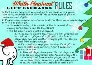 White Elephant Gift Exchange: Tips AND Free Printables (Invitations & Rules) ? Hip2Save