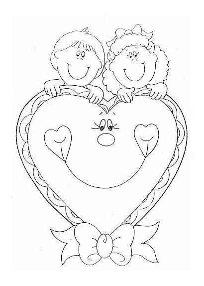 Coloring Pages Colorear Febrero Para Dibujos Valentin