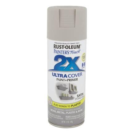 rust oleum ultra cover 2x 12 oz spray paint satin