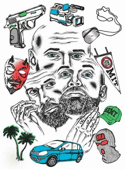 Gq Illustrations Grand Grifter Beach Petty Something