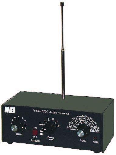 mfj  antenna swl indoor active antenna radio