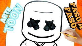 Como Dibujar Fortnite Marshmello Buckfort Com Fortnite