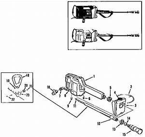Mcculloch Model Mac M1000 Power Washer  Electric Genuine Parts