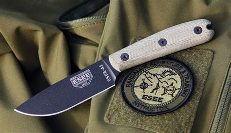 Esee3 And Esee4 With Modified Handles  Blades