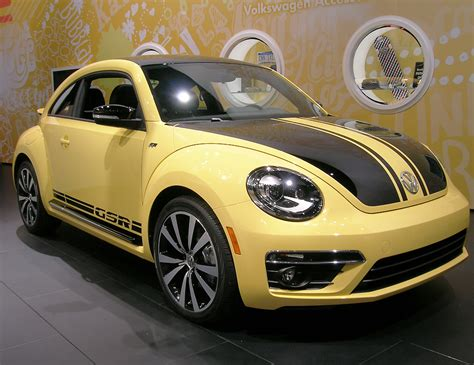 2018 Volkswagen Beetle Gsr At The 2018 New York Auto Show