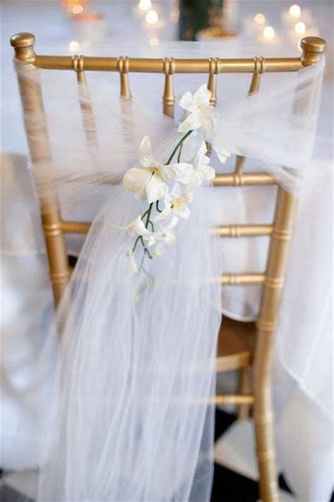 habillage chaise mariage 7 stylish ways to cover your wedding chairs