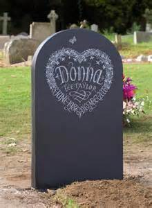 Headstone Designs with Flowers
