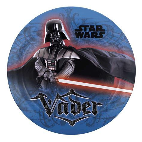 Star Wars Darth Vader Kids Plates by Zak!