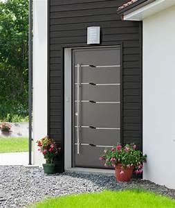 portes d39entree aluminium porte d39entree pas cher With porte entree alu prix