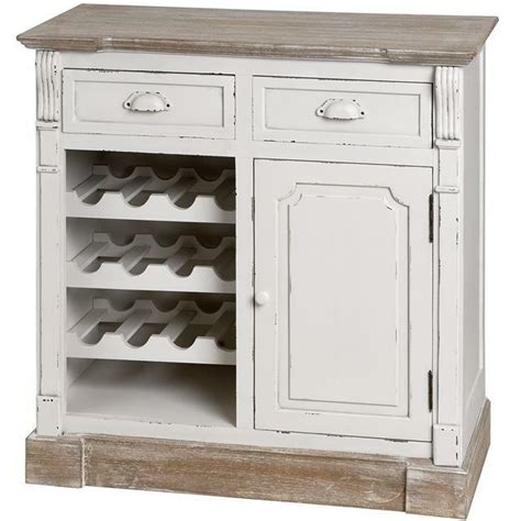 Wine Rack For Cupboard by Shabby Chic Sideboard Wine Rack Large Cabinet