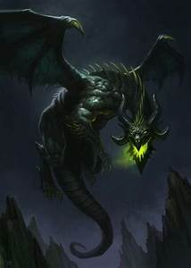 """Oh! It reminds me of the black dragons from """"Dragonlance ..."""