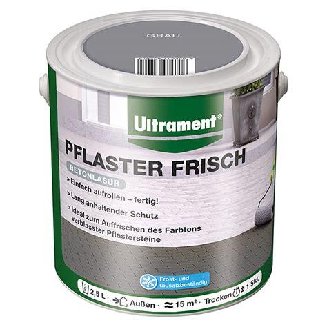 Aus Grau Wird Bunt Betonpflaster Lasieren by Ultrament Betonlasur Pflaster Frisch Grau 2 5 L