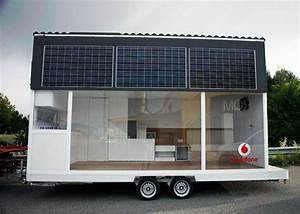Solar Mobile Home Liberates Office