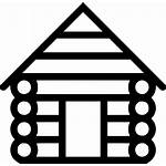 Cabin Log Clipart Icon Svg Transparent Icons
