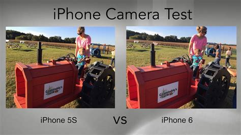 iphone 5s test iphone 6 vs iphone 5s test