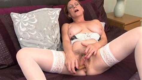 Tiffany T Loves Sex Toys In Her Hairy Bush