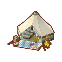 natural tent animal crossing pocket camp wiki