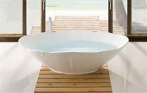 Armatur Für Freistehende Badewanne : freistehende badewannen mineralguss und holz im angebot badefieber ~ Bigdaddyawards.com Haus und Dekorationen