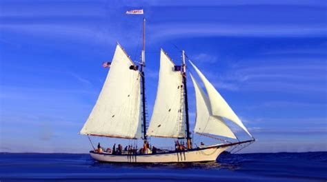 Knox Boat Fishing Club by Camden S Schooner Appledore Bound For Key West New