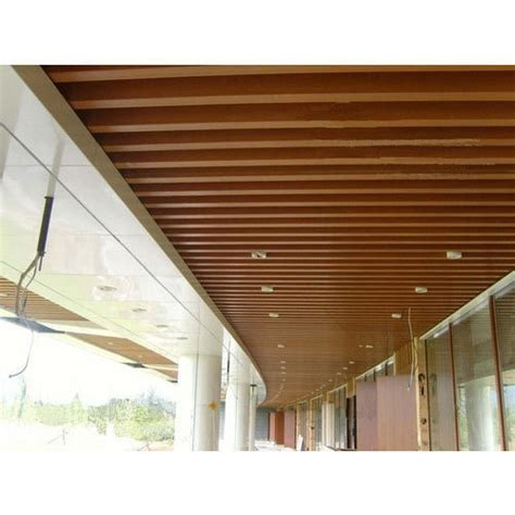 Decorative Ceiling Panels by Decorative Wooden False Ceiling At Rs 800 Square